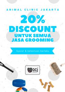 20%grooming in